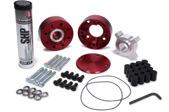 WINTERS WIN1153CB Drive Flange Wide 5 Cambered Black - Urthane Performance Oil Shop
