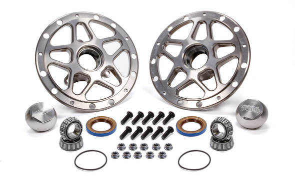 WINTERS WIN3980C Forged Alum Direct Mount Front Hub Kit Silver Performance Oil Shop