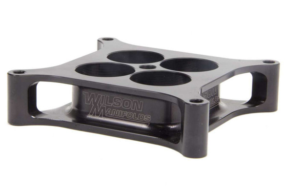 WILSON MANIFOLDS WLS004130 Carburetor Spacer - 4150 1.5in 4-Hole L/W Tapered Performance Oil Shop