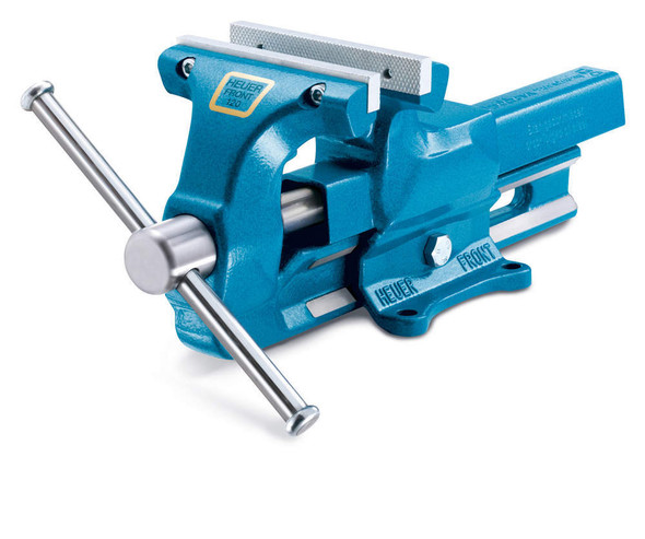 WOODWARD FAB WWFVH101140 140Mm Bench Vise 5-1/2in With Replaceable Jaws Performance Oil Shop