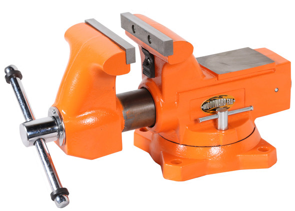 WOODWARD FAB WWFWFV6.5 6-1/2in Cast Iron Bench Vise Performance Oil Shop