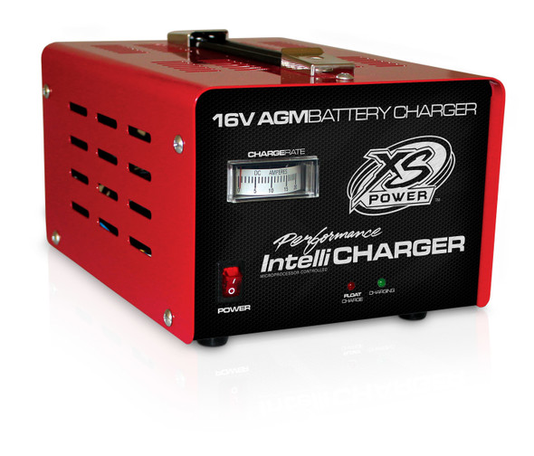 XS POWER BATTERY XSP1004 16V XS AGM Battery Charger Performance Oil Shop