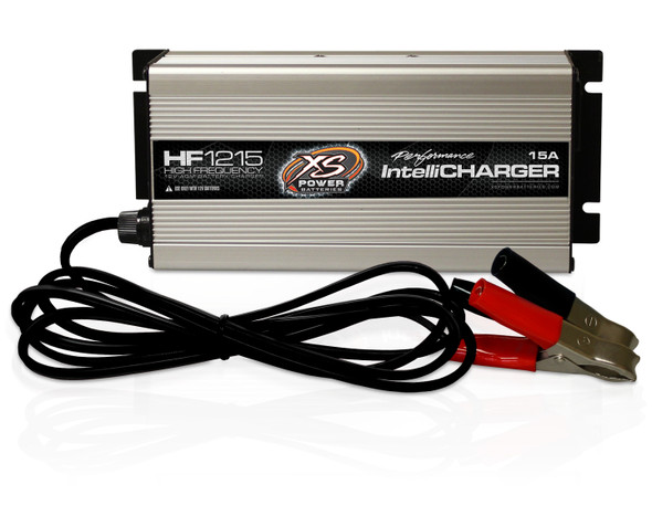 XS POWER BATTERY XSPHF1215 12v H/F AGM Intellichrgr 15A Performance Oil Shop