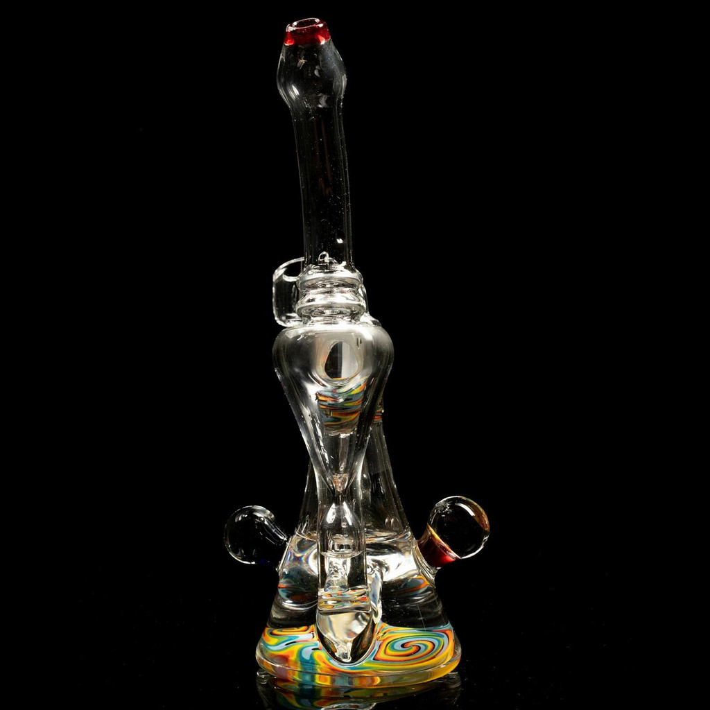 CURLY RAINBOW RECYCLER W/REVERSAL