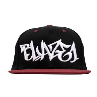 Black/Red Hat White Scribe