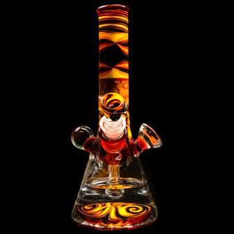 SUNFIRE MINI TUBE W/ REVERSAL COLORED/ WORKED NECK
