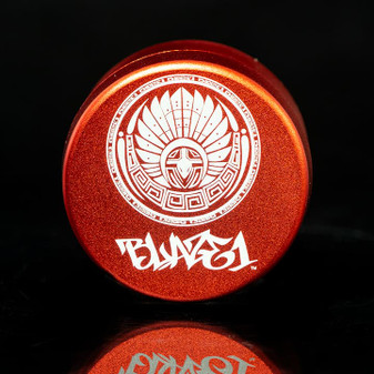 GRINDER THREE CHAMBER CIRCLE OF TRUST RED