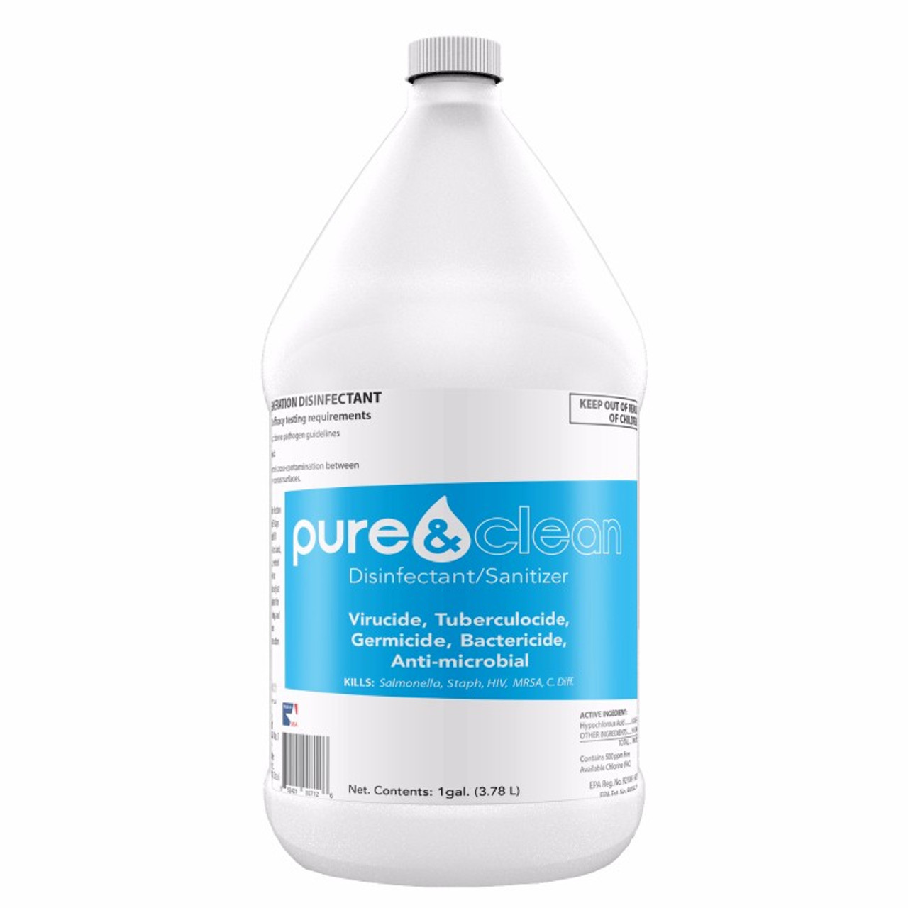 Hypochlorous Acid - 460 ppm HOCl (1 case - total 4 gallons)