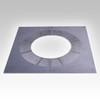 Rectangular Ventilated Firestop Plate