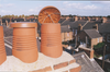 Terracotta chimney C Cap