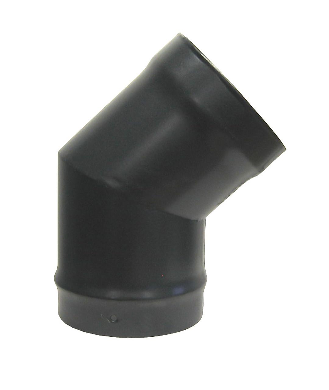 Pennine 4 90 Degree Elbow Vitreous Enamelled Multifuel Stove Flue Pipe