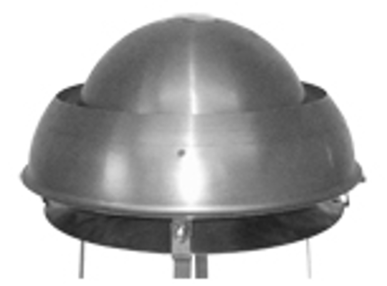 Mini Euro Cowl Stainless Steel - 125mm