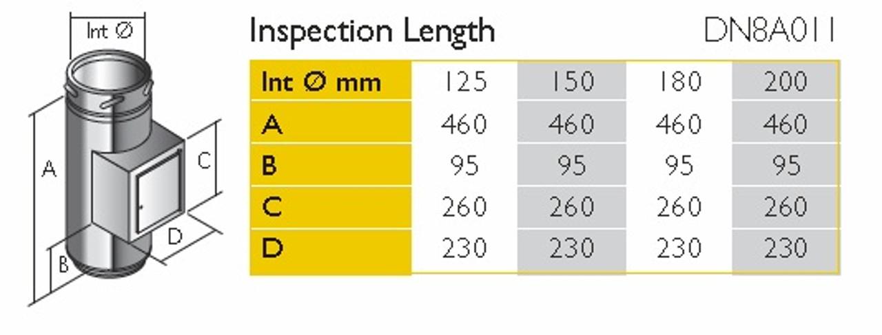 Inspection Length 125mm