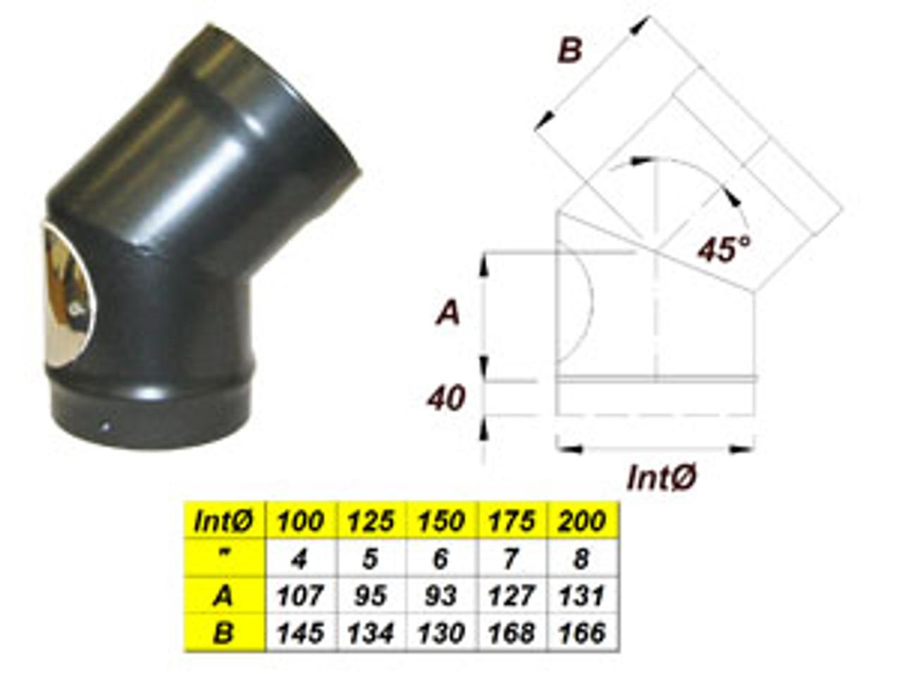 Pennine Systems 135° Bend With Door