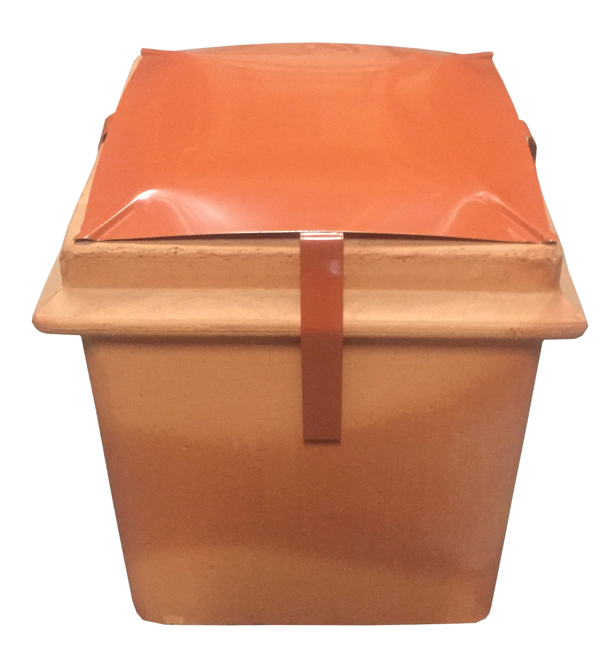 """Square (12"""" x 12"""") Terracotta Capping Cowl"""