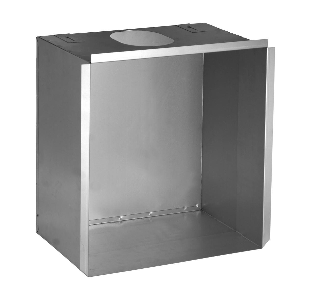 Large Flue Box for Back Boiler 125mm