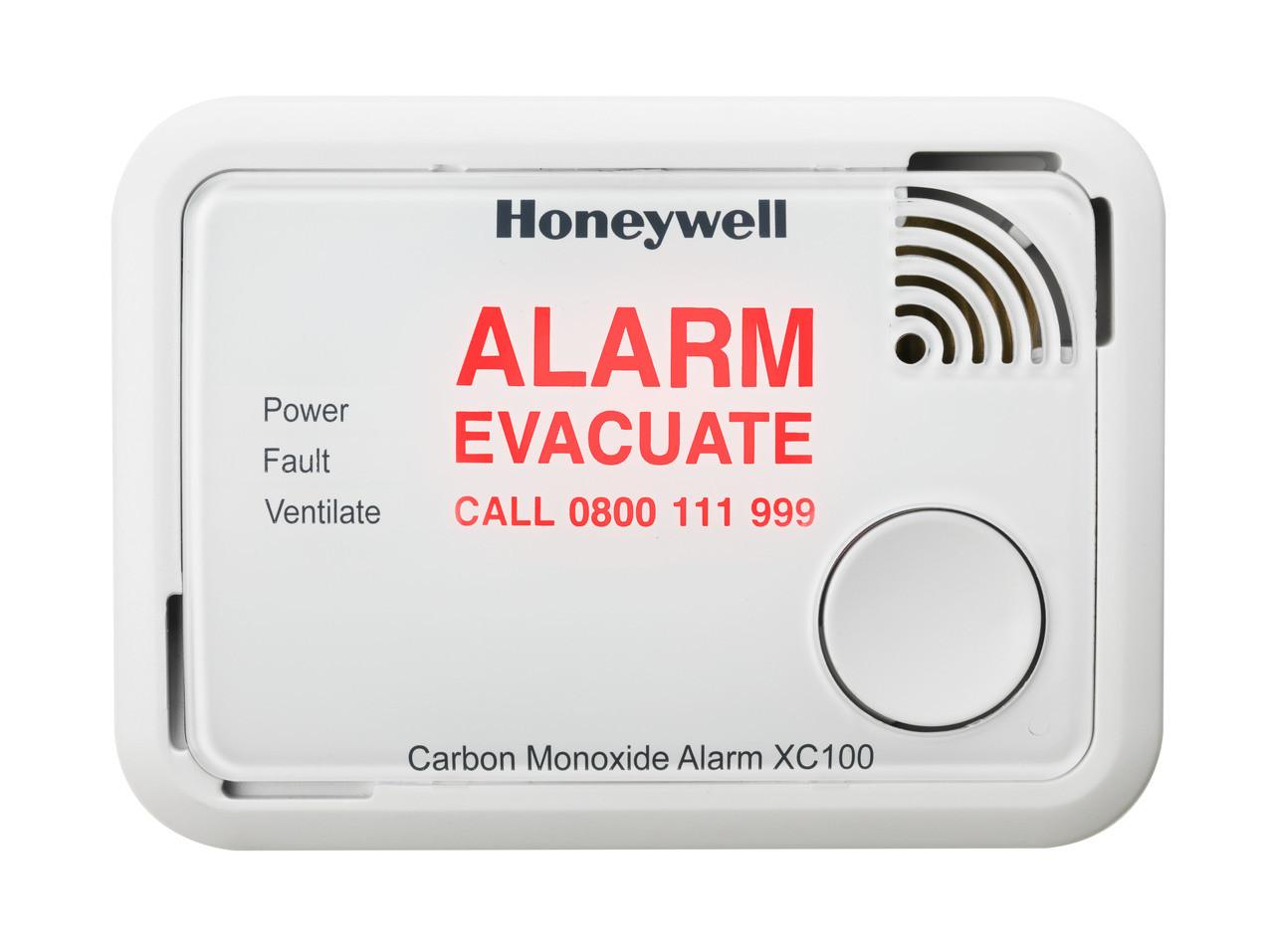 XC100 Alarm Flashing Message