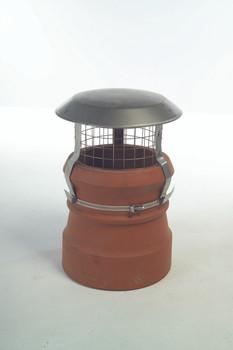 Raw Stainless Steel Raincap Cowl