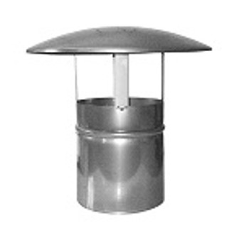 Flexible Flue Liner Raincap Terminal