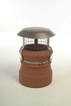 Junior Birdguard Stainless Steel Chimney Cowl