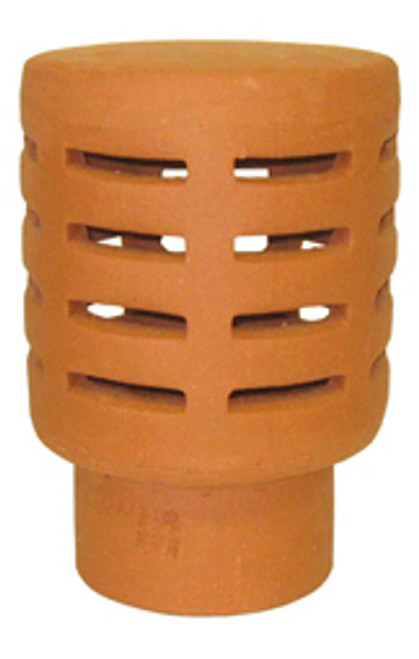 Gas Terminal 185mm Terracotta