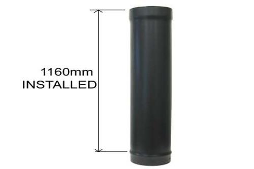 1200mm Standard Stove Pipe No Door