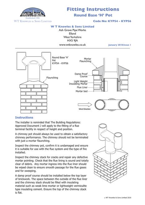 KYP Installations Instructions 1 of 2