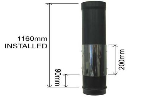 1200mm Standard Pipe With Door
