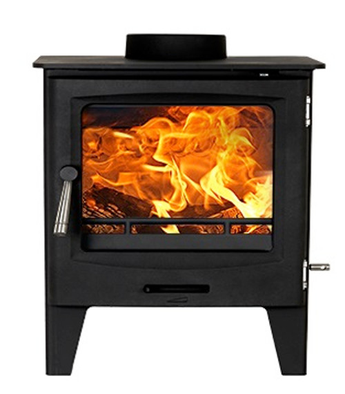 Horizon 5kW DEFRA Approved Stove Front View