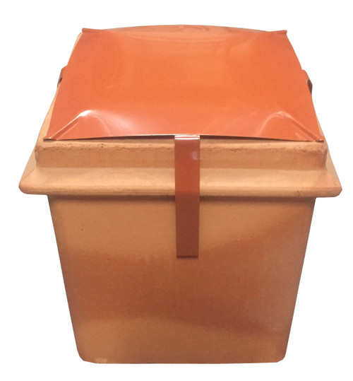 "Square (12"" x 12"") Terracotta Capping Cowl"