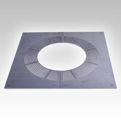 Rectangular Ventilated Firestop Plate