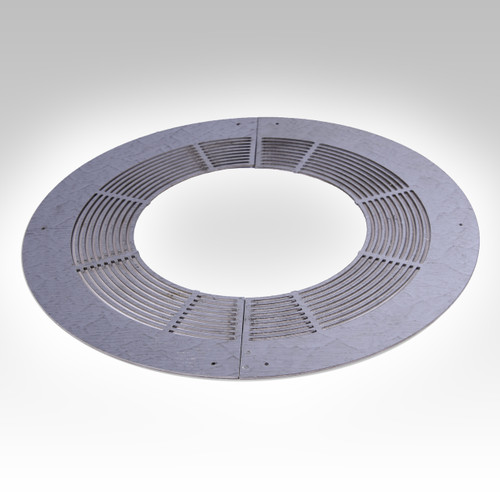 Round Ventilated Firestop Plate