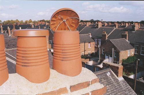 Terracotta chimney C Cap