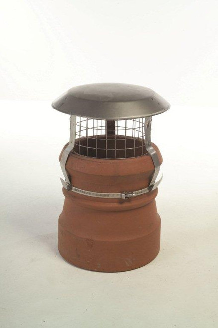Junior Birdguard Stainless Steel Chimney Cowl