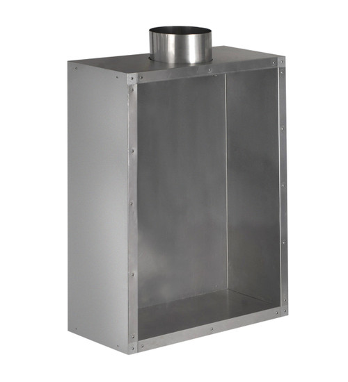 Standard Flue Box 125mm for gas flue liner