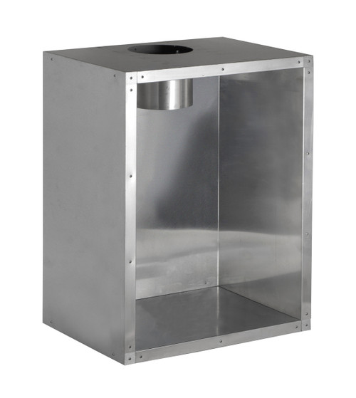 Recessed Flue Box 125mm