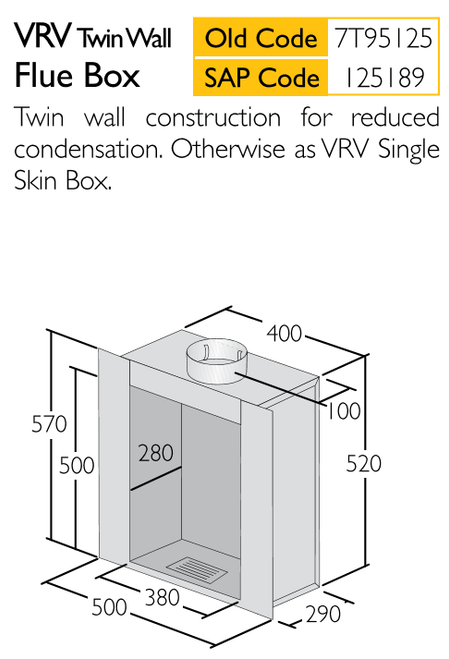 Twin Wall Flue Box