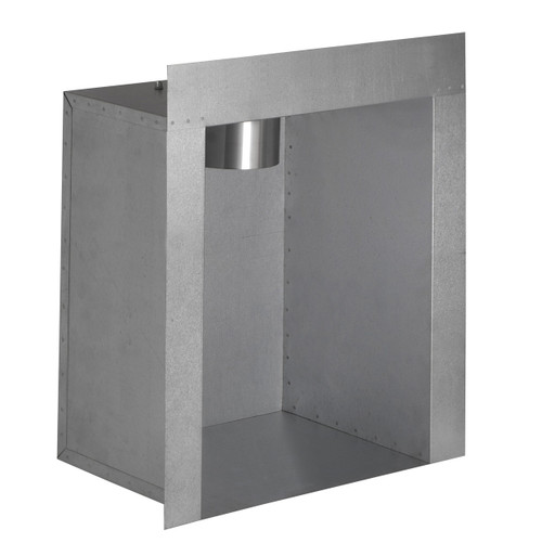 VRV Single Skin Flue Box