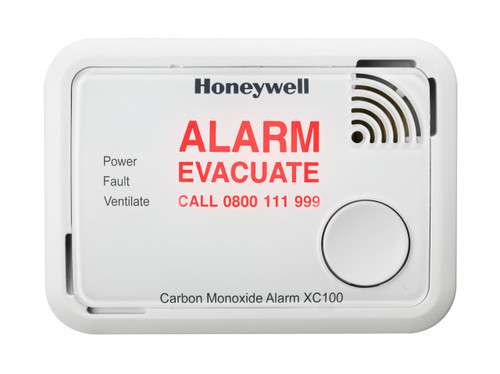 XC100 Alarm Flashing Message
