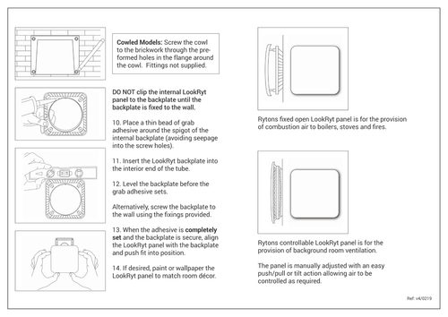 Fitting Instructions Page 2