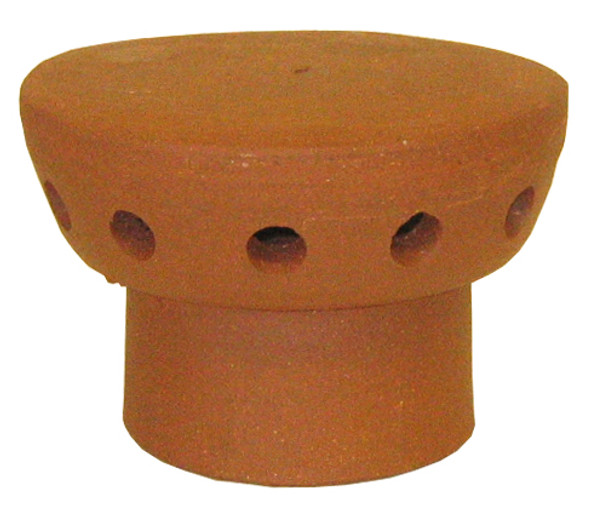 Flue vent 185mm Terracotta