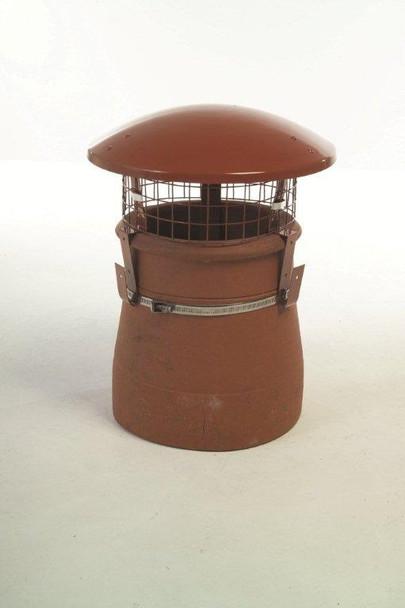 Terracotta Chimney Rain Cowl
