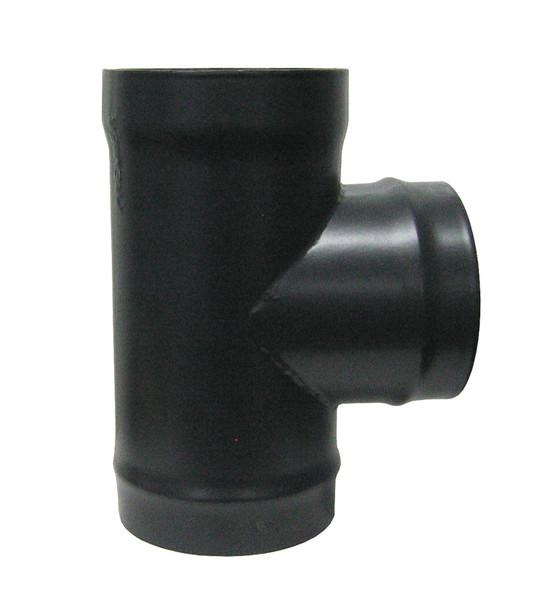 Standard flue pipe Tee with Branch Spigot