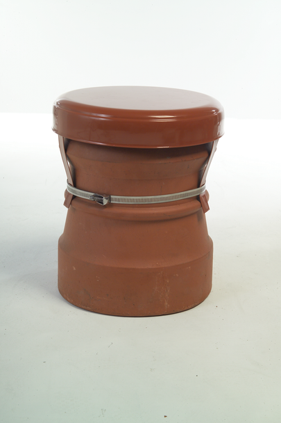 Capping Cowl  Terracotta
