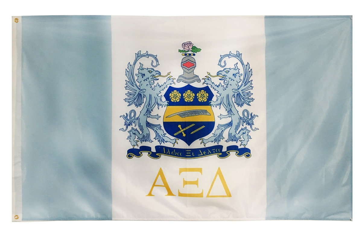 Alpha Xi Delta 3' X 5' Flag - Officially Approved