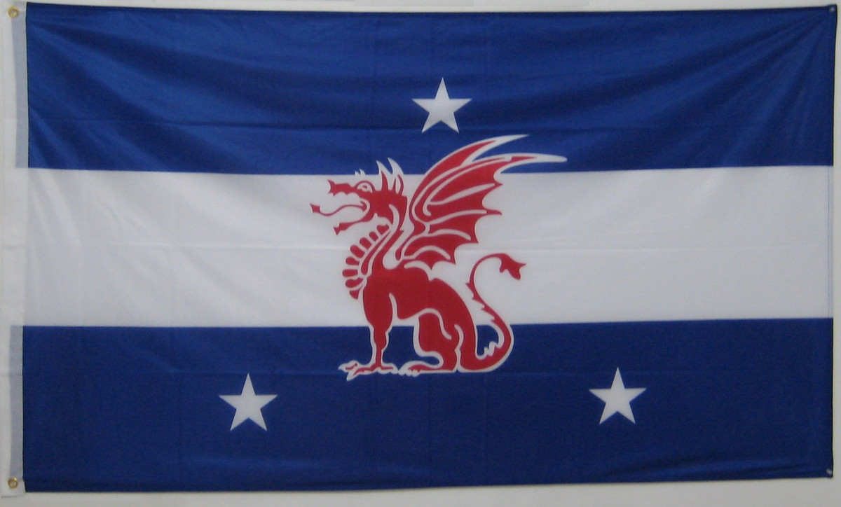 Officially approved Theta Xi Flag 5/' x 3/'