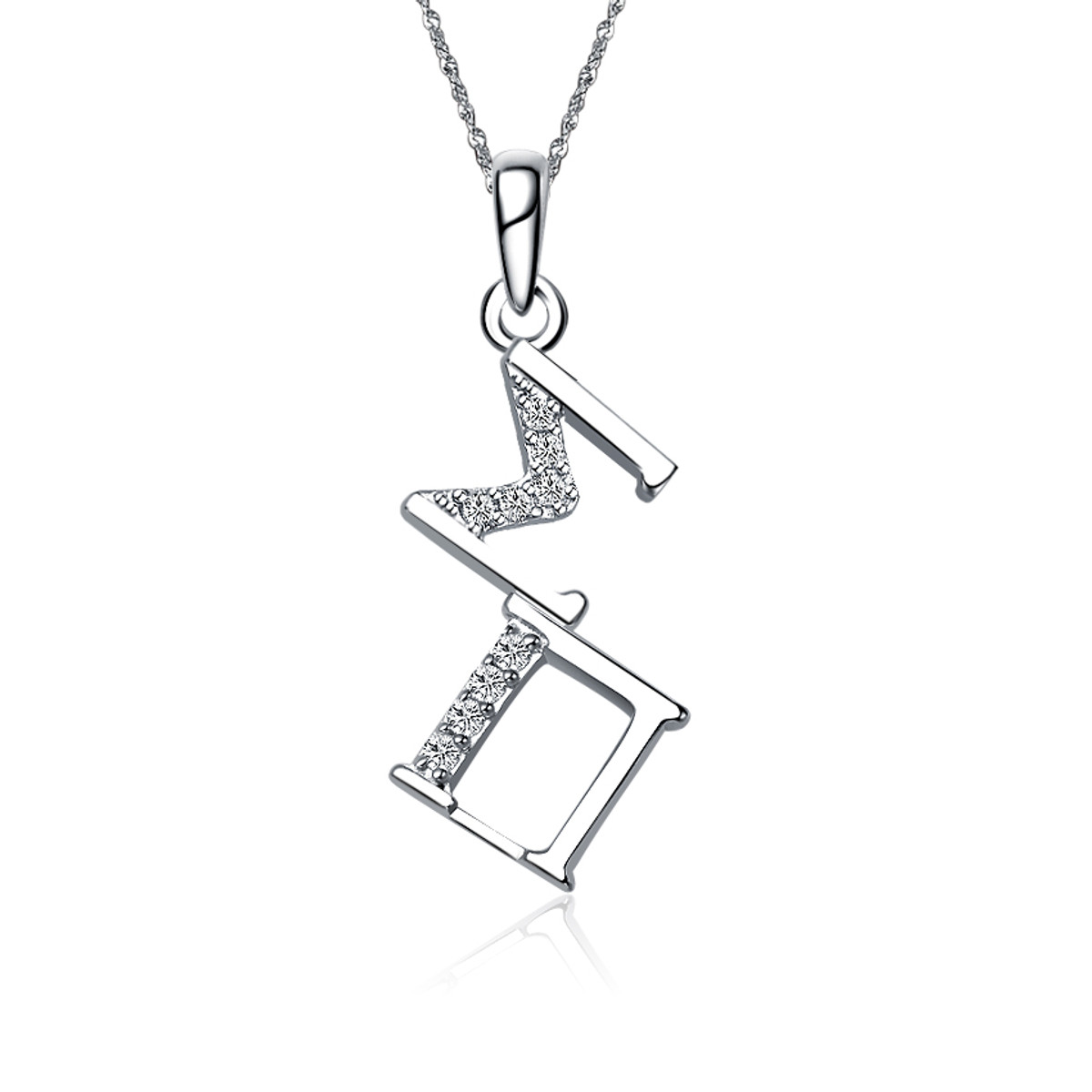 Phi Beta Sigma Fraternity Sterling Silver Lavalier with Chain