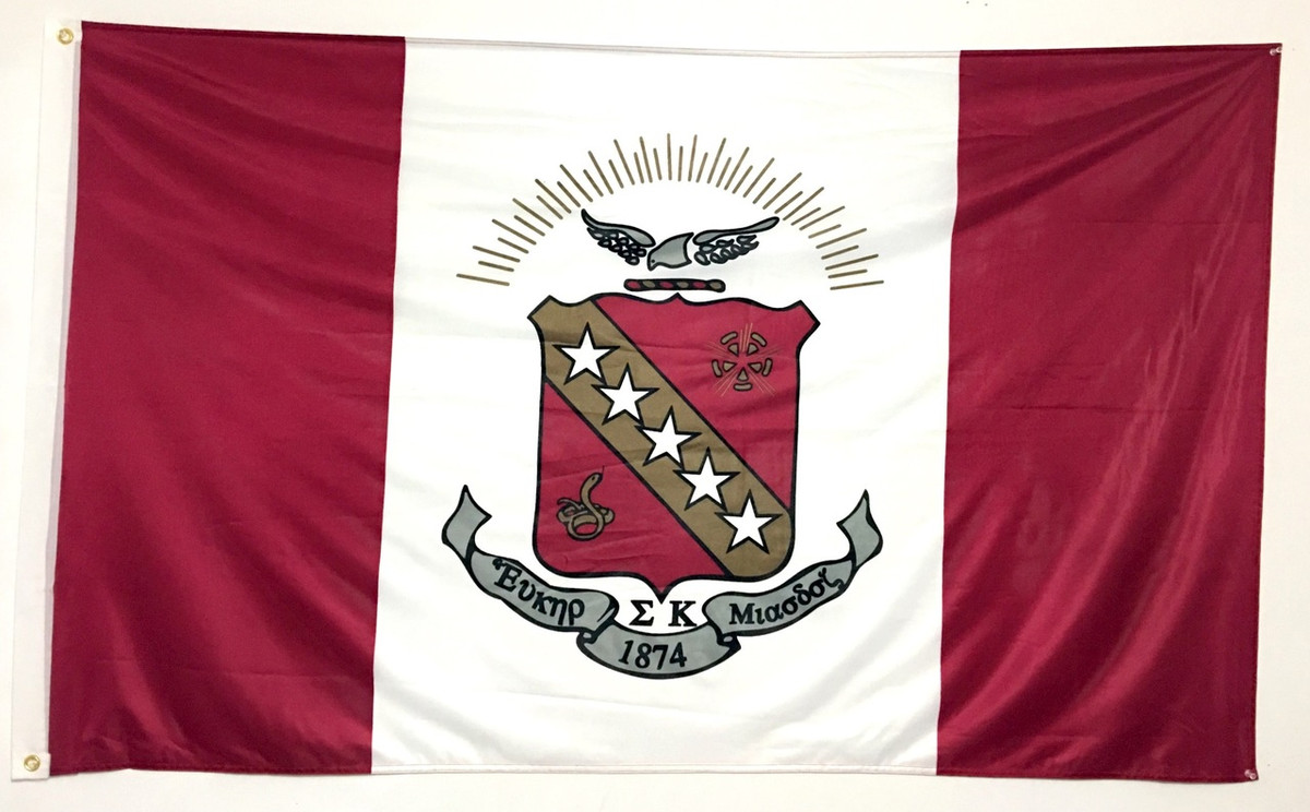 Sigma Kappa 3' X 5' Flag - Officially Approved