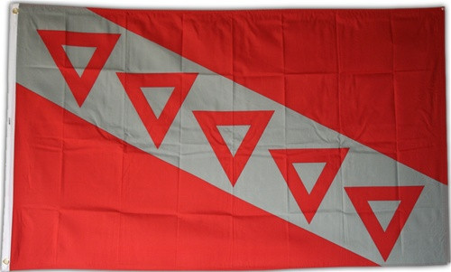 Tau Kappa Epsilon 3' X 5' Flag - Officially Approved