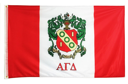 Alpha Gamma Delta 3' X 5' Flag - Officially Approved